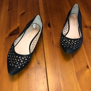 Black Restricted Flats